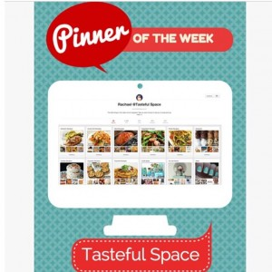 Pin and Tell has featured me as pinner of the week