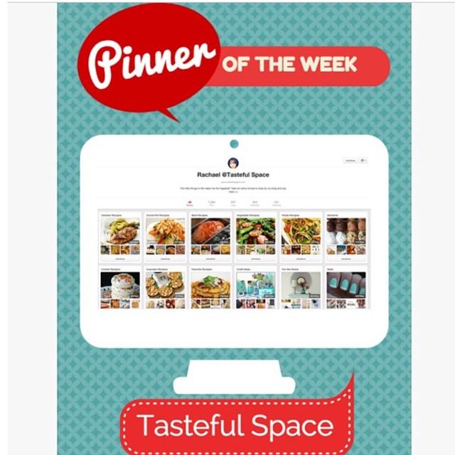 @pinntell has featured me as #PinneroftheWeek