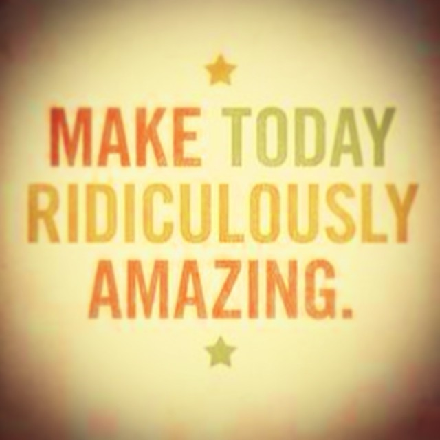 How are you going to make today amazing?! ✨