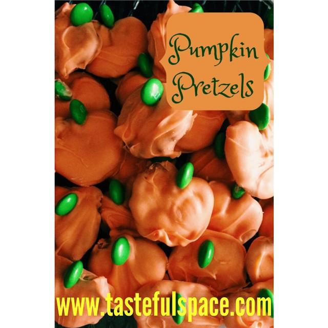 Pumpkin Pretzels are the perfect and kid friendly no-bake treat