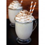 A warm cappuccino with whipped cream is always a great start to a Monday!
