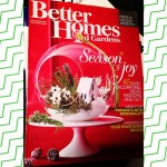 Before bed reading with #BetterHomesAndGardens ❤️