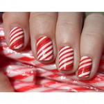 Candy Cane Nails!❤️
