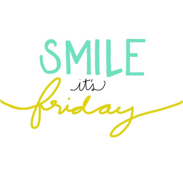 Happy Friday! Any weekend plans you are excited about