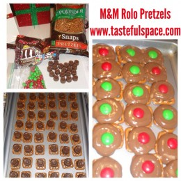 M&M Rolo Pretzel recipe