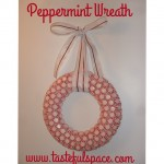 This is one of my favorite Holiday crafts to make...it's perfect for the kids to help!❤️Search 'Peppermint Wreath' on http://ift.tt/KW1TtJ for the instructions!
