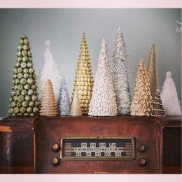 These trees make for an easy craft that add a unique touch to your decor