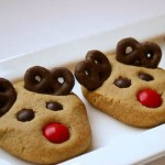 Reindeer Rudolph Cookies are a perfect treat to leave out for Santa!❤️