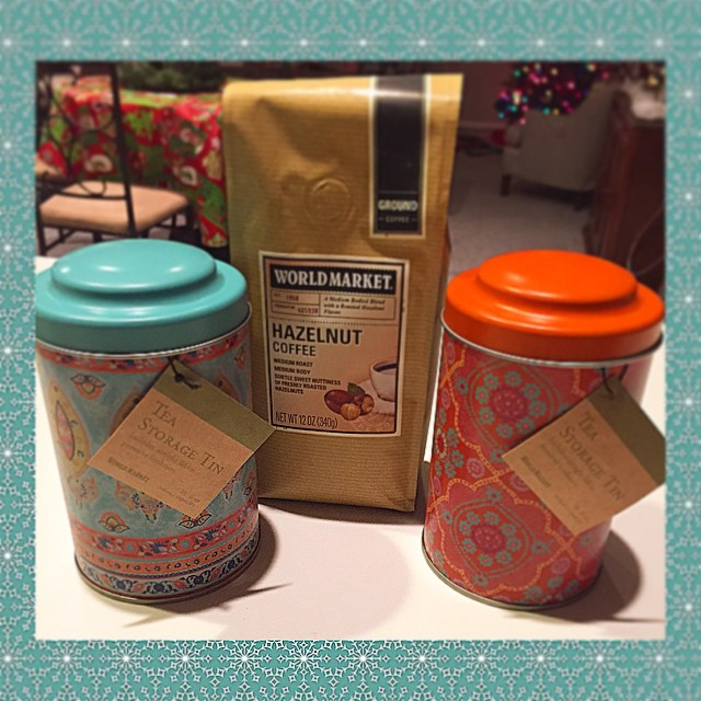 Found great gifts for the tea and coffee lovers in my life at @worldmarket ☕️