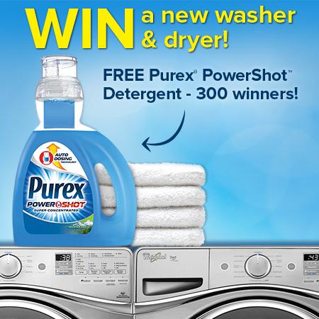 Purex PowerShot Detergent Giveaway!