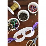 Celebrate Mardi Gras by decorating your own mask!
