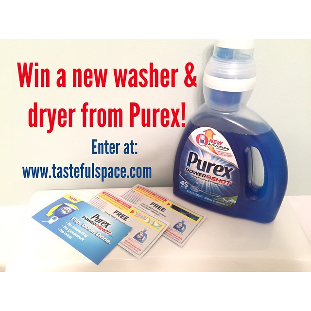 WIN a new washer & dryer from @Purex