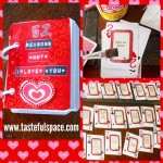 """I had so much fun making my """"52 Reasons Why I Love You"""" deck of cards! Ask for the directions! ❤️"""