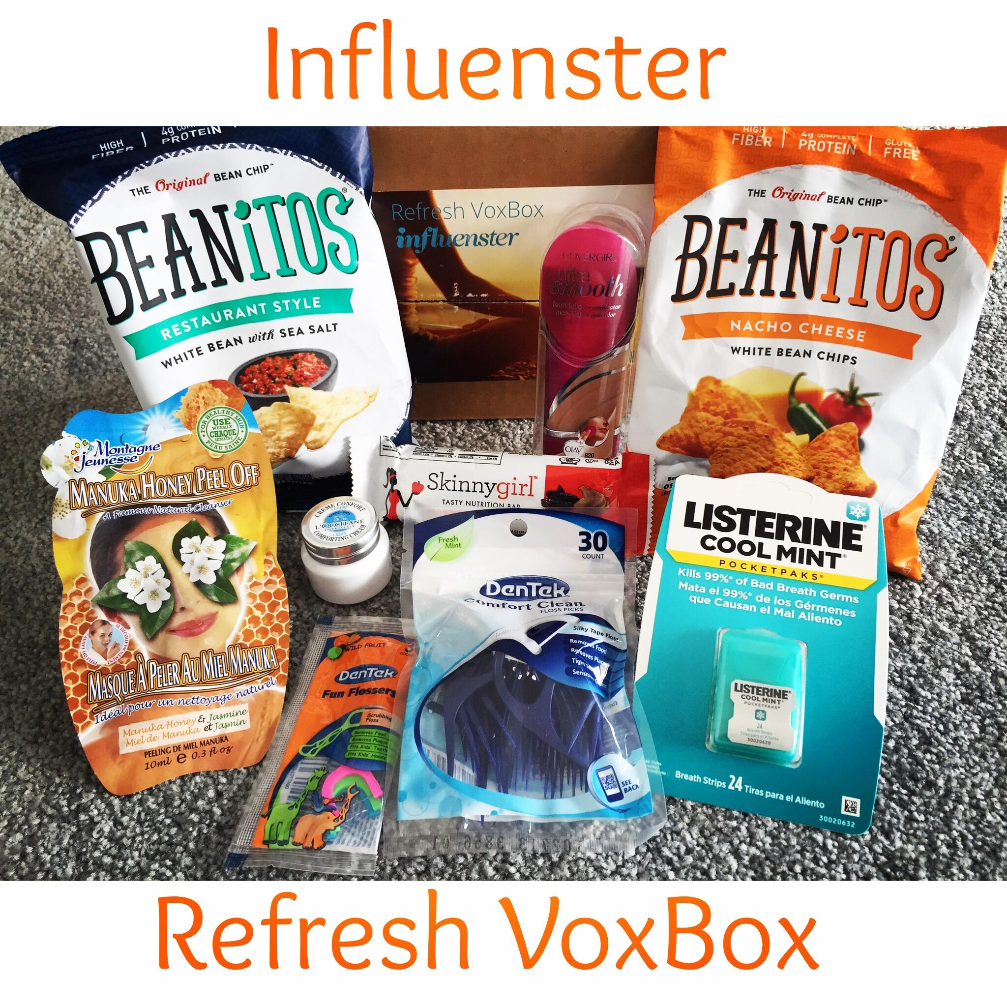 #Influenster #RefreshVoxBox Review!
