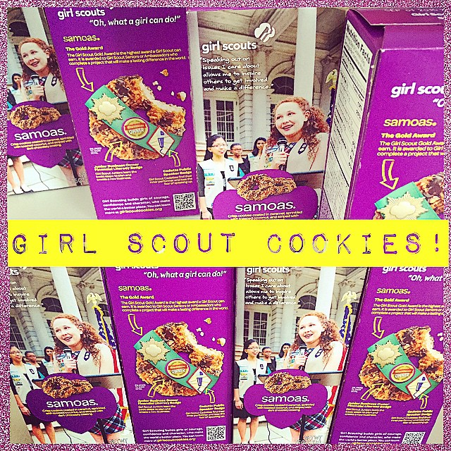 What is your favorite flavor of Girl Scout cookies