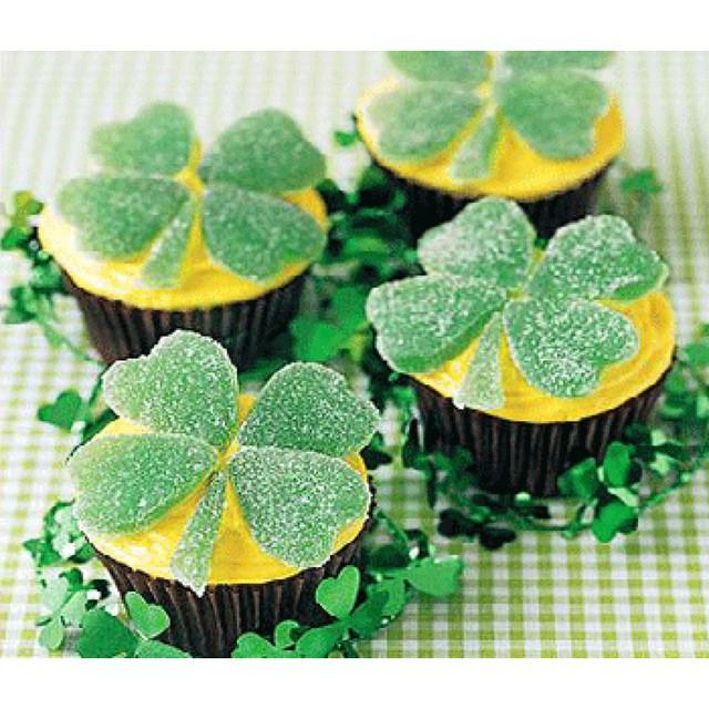 Shamrock Cupcakes!