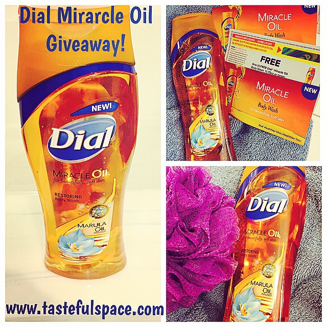 Win a FREE bottle of the new @Dial Miracle Oil Body Wash infused with Marula Oil! Enter every day at http://ift.tt/KW1TtJ