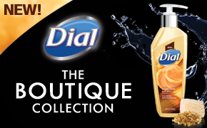 NEW Dial Boutique Collection Hand Soap #Giveaway!