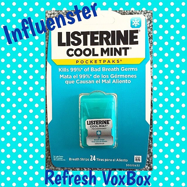 I love how my #ListerinePocketPaks dissolve instantly, leaving me with fresh breath by killing 99.9% of germs! These fit perfectly in my pocket and purse! Thank you @influenster for letting me try them!