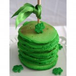 How do you celebrate St. Patrick's Day? Green food coloring can go a long way just look at these pancakes!