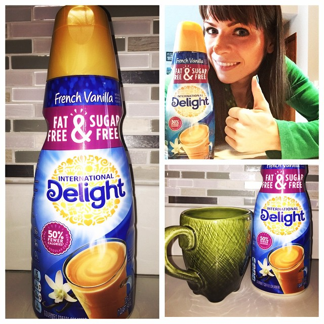 Thumbs up to @indelight Fat Free & Sugar Free Coffee Creamer! I love how I can drink as much as I want and how delicious it is, I can't go without it!