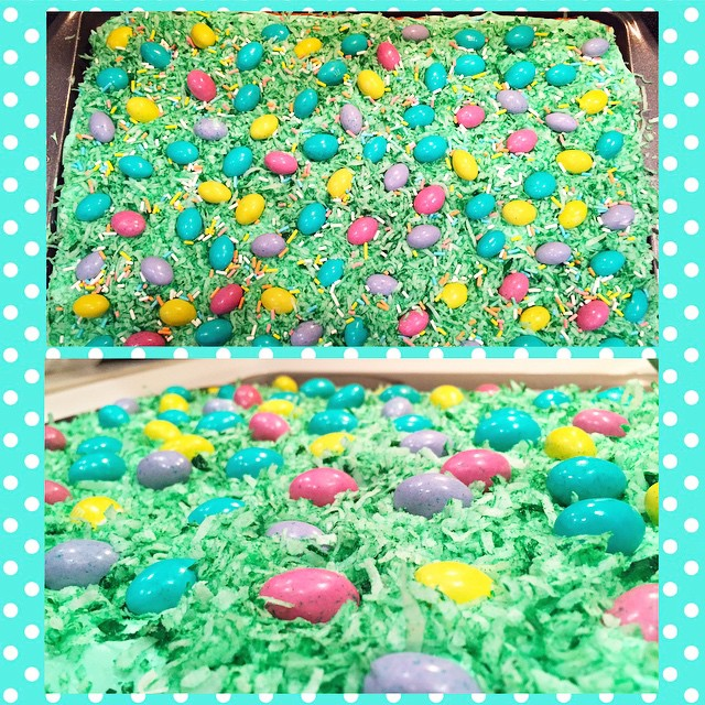 My Easter Egg Patch Bars are just as delicious as they look!