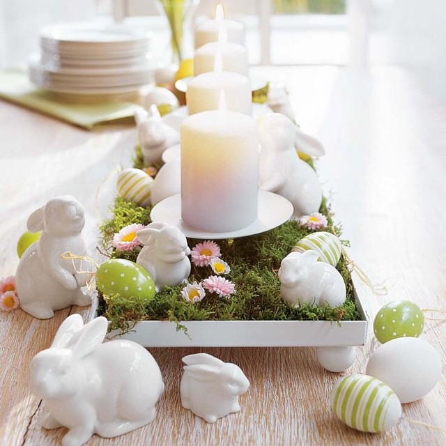 What a beautiful Easter Centerpiece
