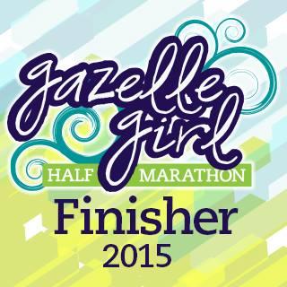 Gazelle Girl 2015 Half Marathon Recap!