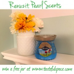 I love how my @Renuzit Pearl Scents adds a burst of freshness and style to my bathroom