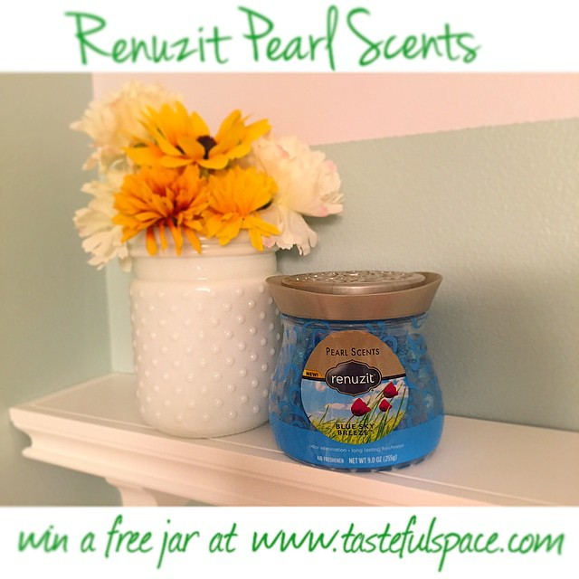 I love how my @Renuzit Pearl Scents adds a burst of freshness and style to my bathroom!
