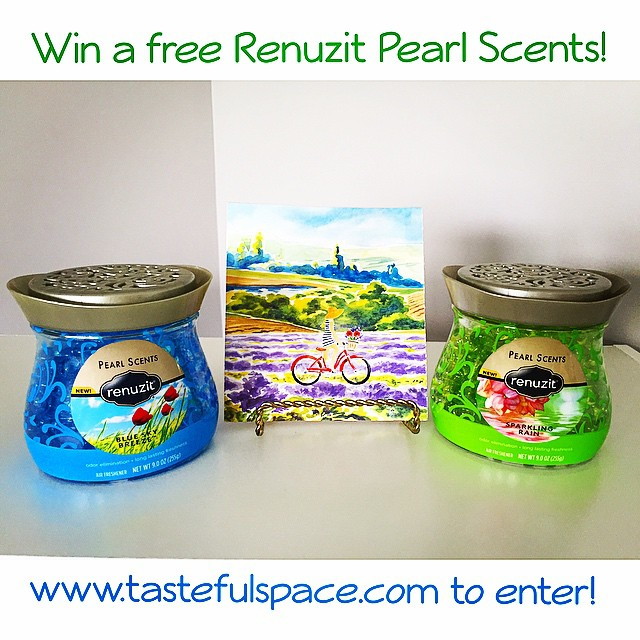 Win a free @Renuzit Pearl Scents and take the personality quiz to find out what style is right for you! Enter at tastefulspace.com through May 27!