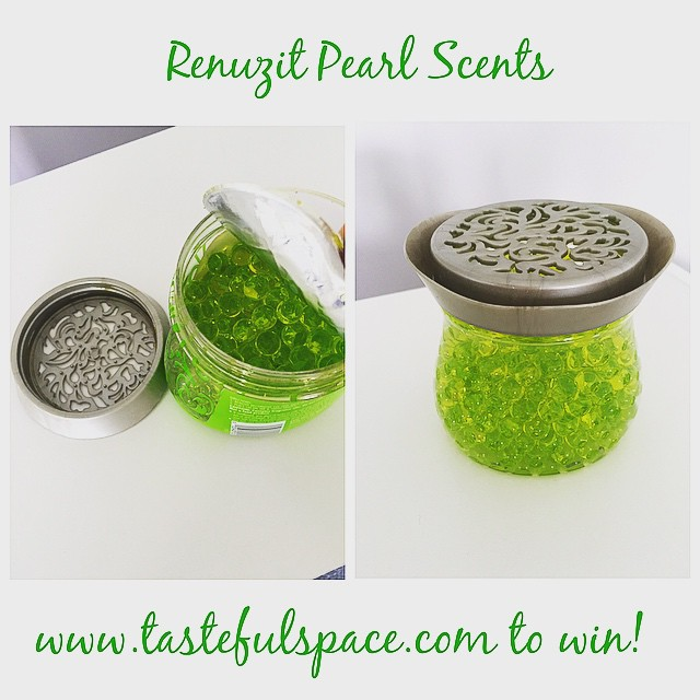 Enter to win a bottle of the new @Renuzit Pearl Scents 💚