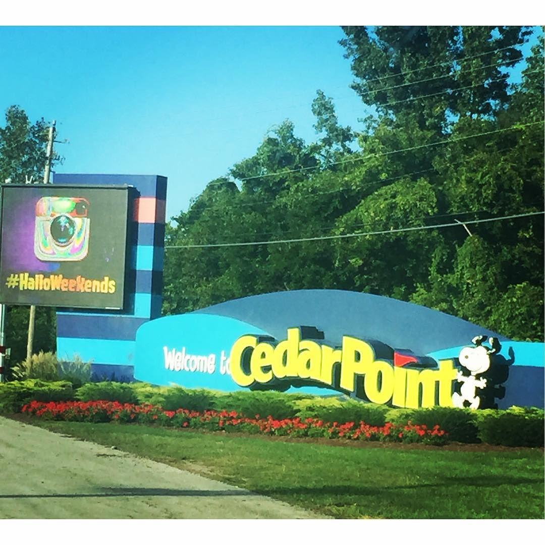 Whoo-hoo! Hello @cedarpoint !!! 🎢