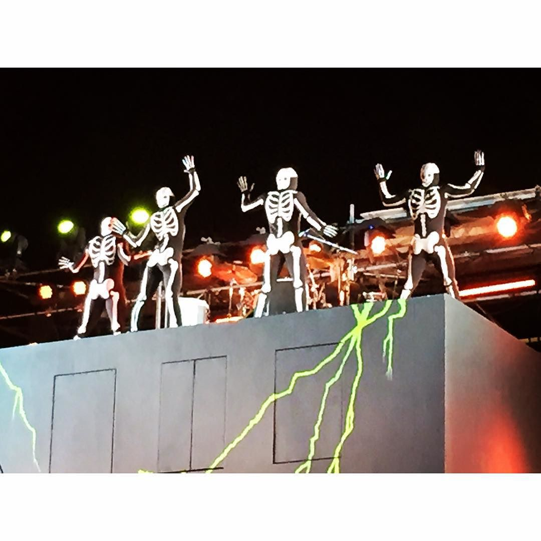 The skeleton show at @cedarpoint for #halloweekends was so much fun!💀