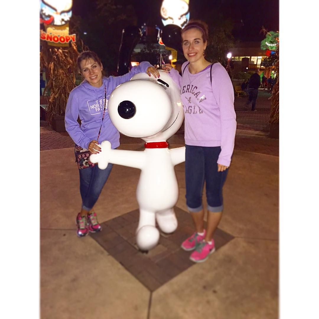 We found #Spoopy at @cedarpoint …how cute is he!?🐶