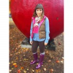 How do you like to layer for Fall? I love bundling up with vests and scarves!