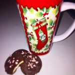 Christmas coffee and peppermints 🎅🏼❤️