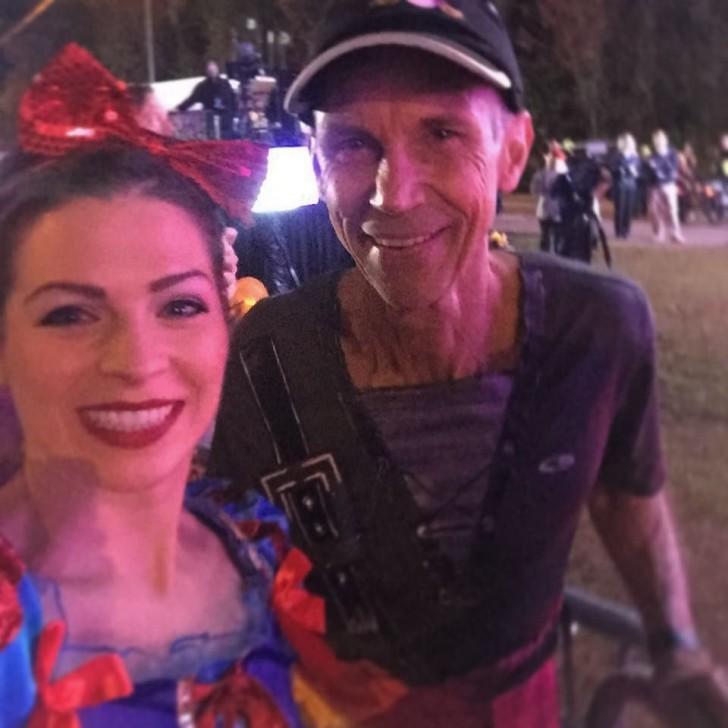 I started the Disney Princess 1/2 Marathon next to Jeff Galloway! 🙌🏼