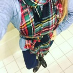 My First Scarf-Belt Outfit ❤️