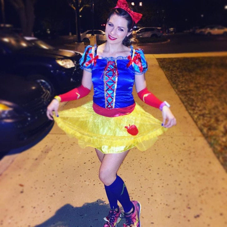 My Disney 1/2 Marathon Princess Costume ❤️
