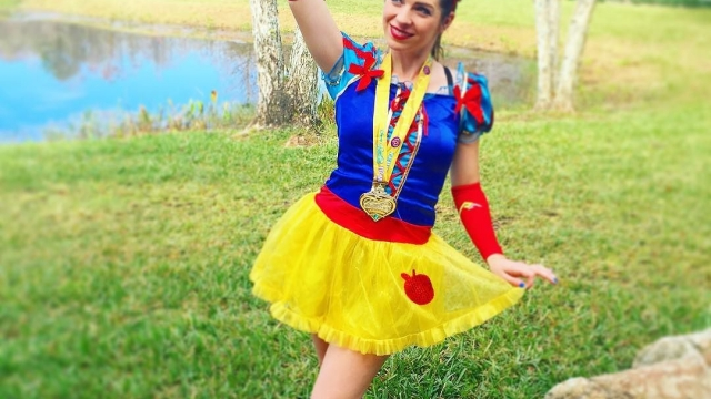 Channeling my inner Snow White 🍎