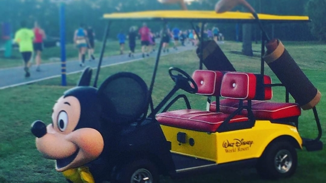 Golf cart….Mickey style!⛳️