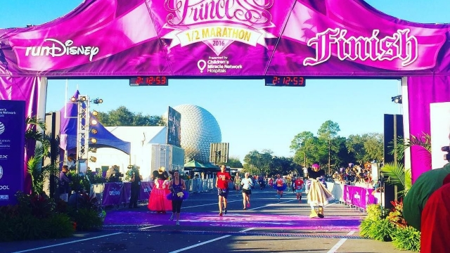 Princess 1/2 Marathon Finish Line👑