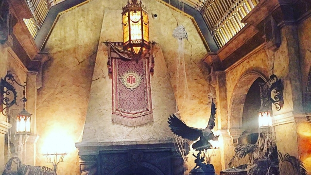 In love with the Tower of Terror's ambiance