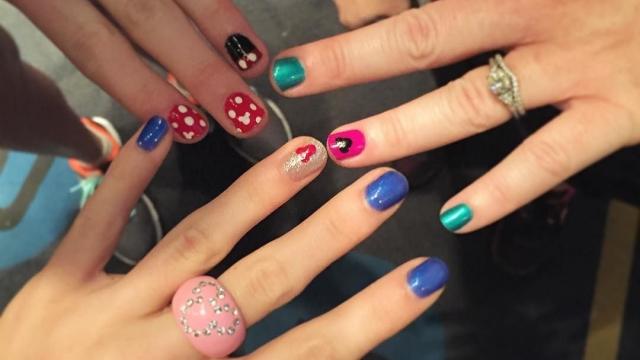 Mickey & Minnie Nails 🐭❤️