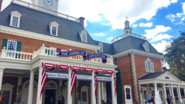 The American Adventure at World Showcase 🇺🇸