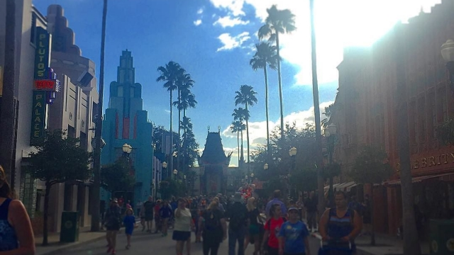 The Chinese Theatre. I love walking down this road! ❤️