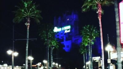 Tower of Terror at night 🌌