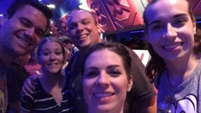 In line for Space Mountain 🚀