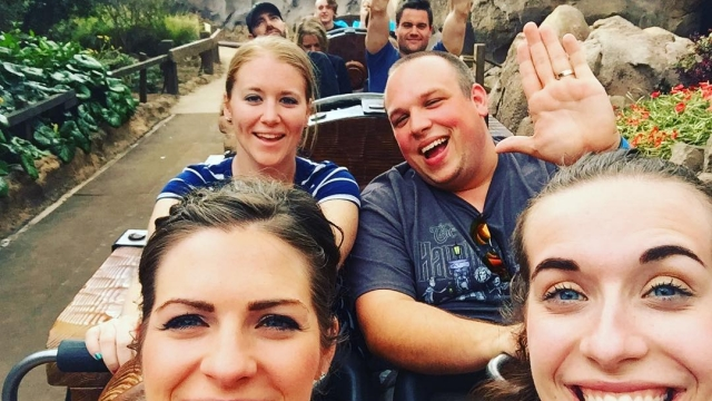 Nothing says Happy Friday like riding the mine train! 💛